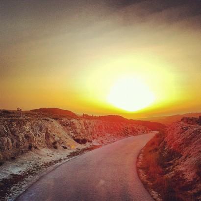 chalk-rock-sunrise