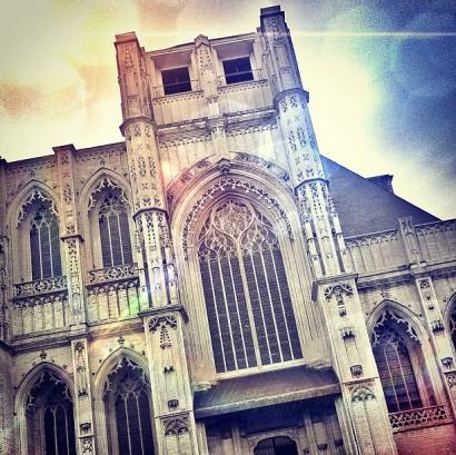 church.-leuven-belgium-latergram