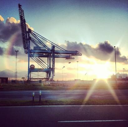 harbor-sunset.-antwerp-antwerpen