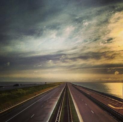 afsluitdijk.-nederland