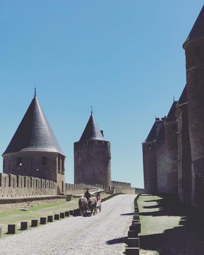 way-back-when-traffic-jams-still-had-to-be-invented.-france-ladoucefrance-carcassonne-landmark-later